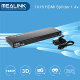 Hot Selling 3D 1080P 1X16 HDMI Splitter