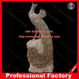 Phoenix Animal Marble Statue Stone Carving Marble Sculpture for Garden