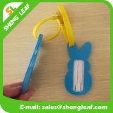Rabbit Cartton PVC Rubber Luggage Tag (SLF-LT054)
