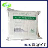 """4"""", 6"""", 9"""" White Microfiber Cleanroom Wiper (EGS-4021-6"""")"""