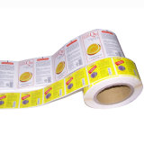 Rotary Color Printing Self-Adhesive Sticker & Label