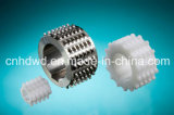 Drive Wheels for Wide-Spiral Round Wire Mesh Belts