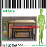 Fashion Store Apparel Store Equipment Fiberglass Mannequin and Nesting Table