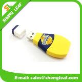 Rubber 3D Customized PVC USB Flash Drive (SLF-RU017)