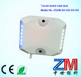 Aluminum Wired Road Stud / Raised Road Marker for Tunnel