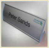 Curved Table Stand Signhoder/Name Holder