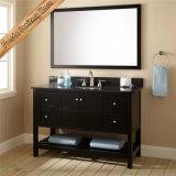 Euro Style Cheap Oak Wood Bathroom Furniture Cabinet