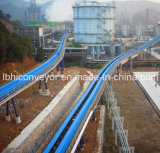 Long-Distance Curved Belt Conveyor for Mining