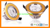 240V Warm White 10W Round Panel LED Downlight