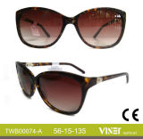 Fashion Acetate Sunglasses with Top Quality (74-A)
