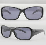 Quality Designer Plastic Sport Polarized Men Fashion Sunglasses (91006)