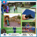 Playground Rubber Tiles, Outdoor Rubber Paver, Colorful Flooring Rubber Tile