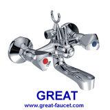 Brass Bathroom Shower Mixer with Bracket
