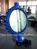 Gear Actuator Lug Type Butterfly Valve with Ce Approve