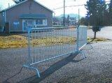 Outdoor Galvanized Road Steel Barrier/Pedestrian Traffic Barrier