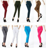 Fashion Women High Waist Colorful Harem Pants Sr8228