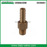 ISO9001 Certified Brass Hose Nipple (IC-9008)