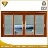 Heavy Duty Aluminium Sliding Door with Electrical Blinds