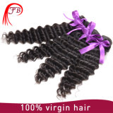 Hot Sale Indian Virgin Hair Extension Deep Wave Hair Weaving