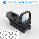 Tactical Reflex Sight and Reflex Scope with 4 Variable Both Red Green DOT Reticles (1X22X33 or FM400)