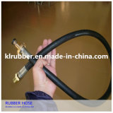 Double-Layer Family Rubber LPG Gas Hose with Fitting