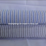 Cotton Yarn Dyed Dobby Stripe Fabric (LZ5760)