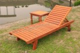 Outdoor Beach Patio Leisure Swimming Wood Garden Furniture (JJ-LB07)