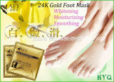 Popular 24k Gold Foot Mask Foot SPA and Peeling Whitening Moisturizing Feet Mask