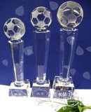 China Factory Supply 2016 World Cup Crystal Ball Trophy (JD-CT84)