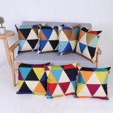 Digital Print Decorative Cushion/Pillow with Geometric Pattern (MX-76)