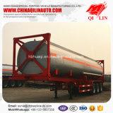 3 Axles 40FT Container Framework Tanker Semi Trailer