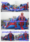 Inflatable Superman Jumping Combo with Slide (MIC-953)