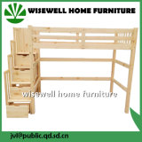 Solid Pine Wood Bunk Bed Furniture