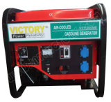 10kVA Gasoline Twin-Cylinder Electric Generator for Home Use with CE/Soncap/Ciq Certifications