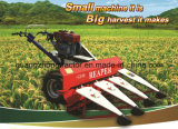 Mini Grain Harvester Reaper Binder for Both Wheat and Rice
