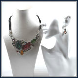 New Item Unique Resin Pendant Fashion Jewellery Necklace Earring