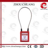 Flexible Steel Cable Padlock, Retractable Cable Safety Padlocks