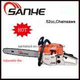 52cc Garden Tools Adjustable Chainsaws with CE/GS