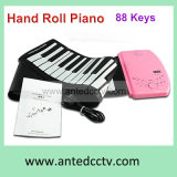 88 Keys Flexible Silicon Folding USB Piano Keyboard for PC