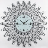 Wrought Iron Wall Decoration Metal Clock (MC-036)