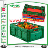 Plastic Foldable Agriculture Storage Crate Box for Farmers