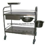 Stainless Steel Treatment Trolley (HS-009)