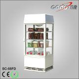 55L Soft Drink Storage 360 Degree Display Cabinet (SC-55FD)
