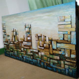New Style Abstract City Oil Painting on Canvas (LH-251000)