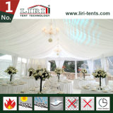 1500 People White PVC Aluminum Wedding Tent Hall with Curtains
