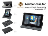 360 Degree Rotary Leather Case for Kindle Fire 2, Kindle Paperwhite