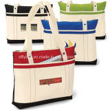 Lady′s Fashion Eco-Friendly Cotton Handbags Tote Bags