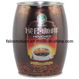 Drum Shape Mocha Coffee Cans