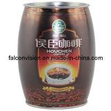 Drum Shape Mocha Coffee Cans