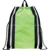 Promotional Reflective Backpack Drawstring Bag